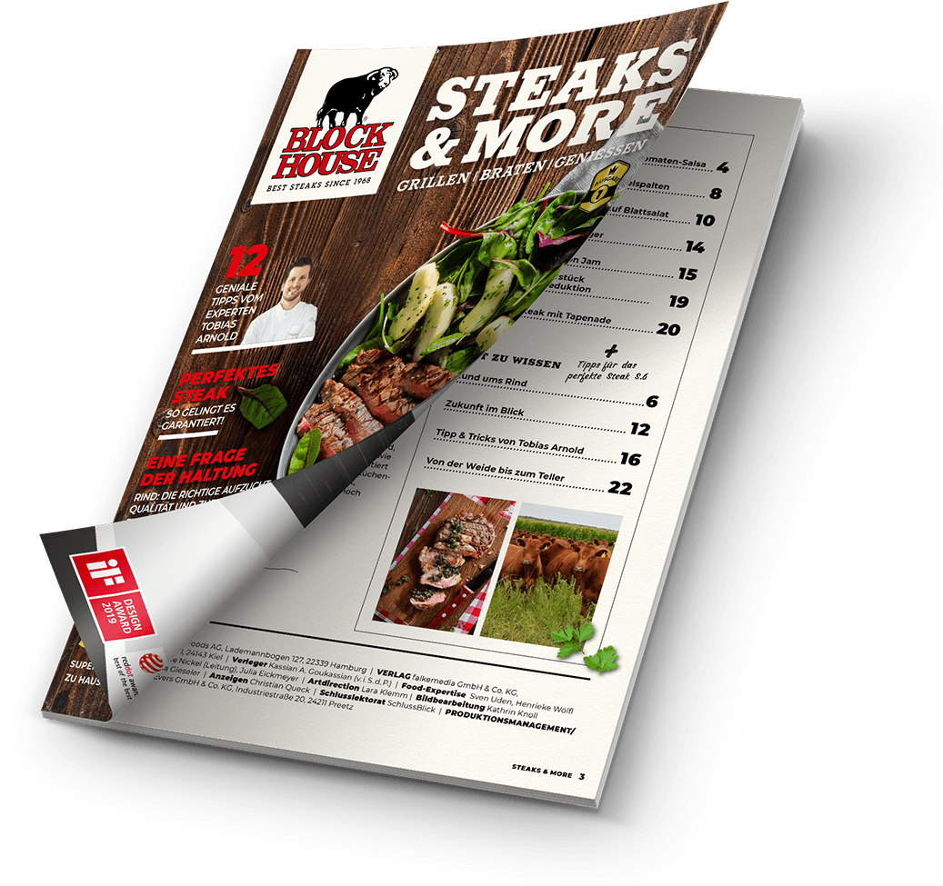 Steak & More Magazin