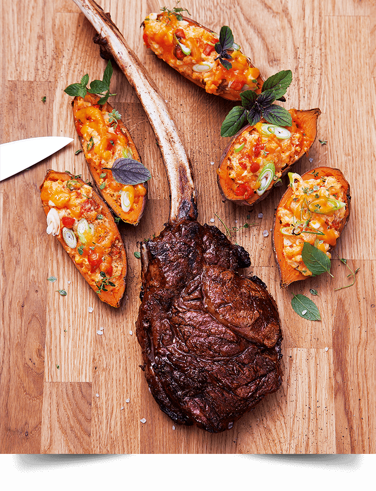 American Rib-Eye-Steak