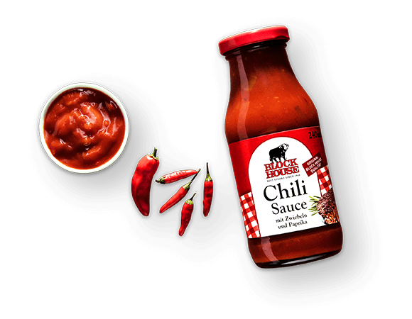 Chili Sauce Produktbild Main View (isolated image) L