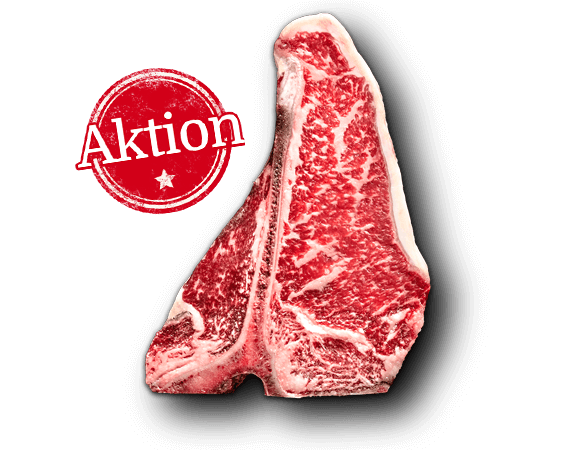 "US T-Bone Steak ""Dry Aged"" Produktbild Main View (isolated image) L"
