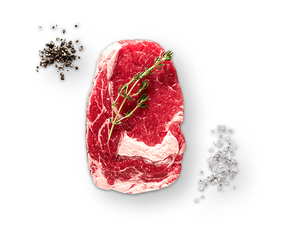 Rib-Eye-Steaks aus Uruguay Produktbild Main View (isolated image) L