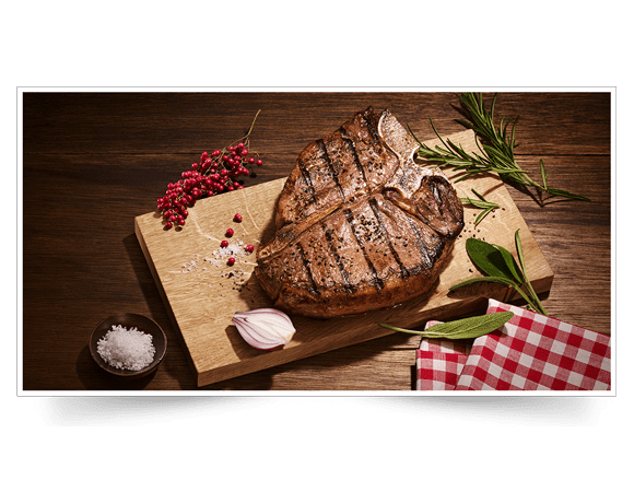 T-Bone-Steak aus Irland Produktbild Mood View L