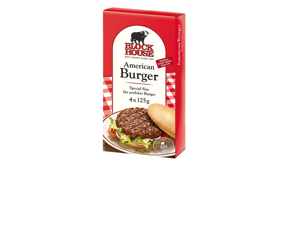 American Burger Produktbild Packing View L